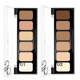 GOLDEN ROSE CREAM CONCEALER MAKEUP PALETTE 01 - 6 COLOURS