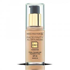 Max Factor FaceFinity All Day Flawless 3 In 1 Foundation - 80 Bronze