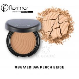 Flormar Compact Face Powder -088 MEDIUM PEACH BEIGE