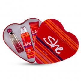 She is love Gift Set Eau de Toilette, 50 ml- With Deodorant& Body Lotion