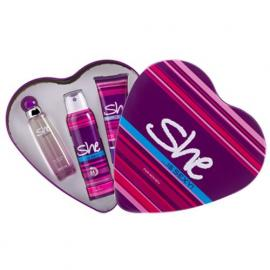 She is sexy Gift Set Eau de Toilette, 50 ml- With Deodorant& Body Lotion