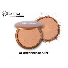FLORMAR -04-Bronzing Powder Face And Body- SUN KISS
