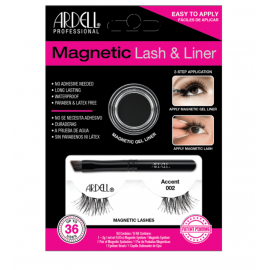 Ardell Magnetic Gel EyeLiner& False Lashes, Accent 002