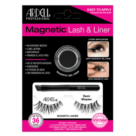 Ardell Professional Magnetic Lashes& Liner Demi Wispies