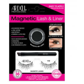 Ardell Magnetic Gel EyeLiner& False Lashes, 110