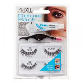 ARDELL LASHES DELUXE PACK-120-BLACK W/ GLUE (65223)