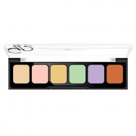 GOLDEN ROSE CORRECT %25 26CONCEAL Camouflage Cream Palette