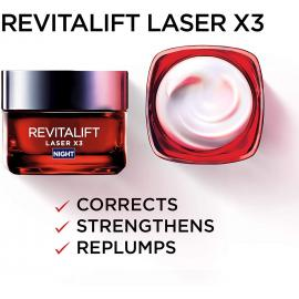 L'Oreal Paris Revitalift Laser X3 Cm Night 50ml
