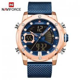 Naviforce Casual Watch For Men NF9172S RG/BE/BE