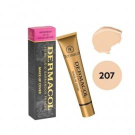 Dermacol make-up -207- cover LEGENDARY HIGH-COVERING FOUNDATION SPF 30