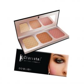 Character 3 Color Blusher - NTE004