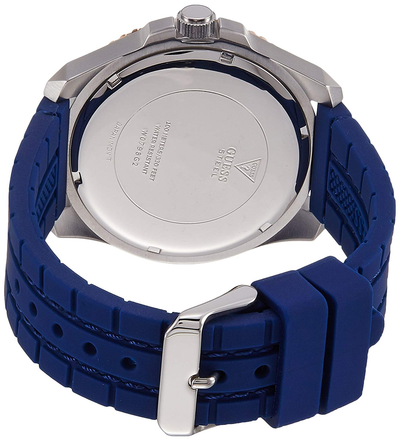 Guess Casual Watch For Men Analog Rubber - W0798G2