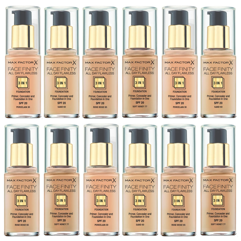 facefinity 3 in 1 foundation