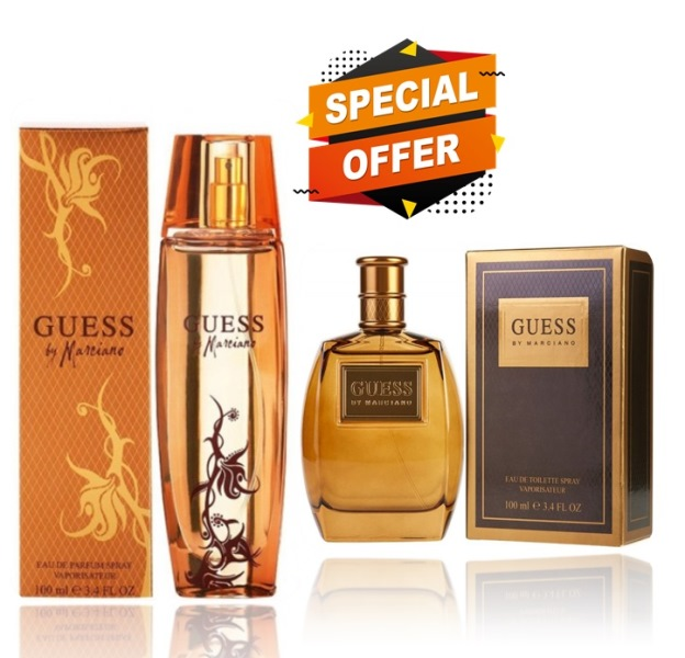 Guess by Marciano for Women 75 ML+ Guess by Marciano for Men 100 ML